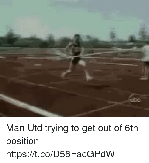 Memes, 🤖, and Man Utd: Man Utd trying to get out of 6th position https://t.co/D56FacGPdW