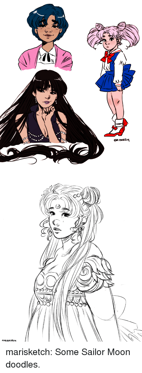 Sailor Moon, Target, and Tumblr: marisketch:  Some Sailor Moon doodles.