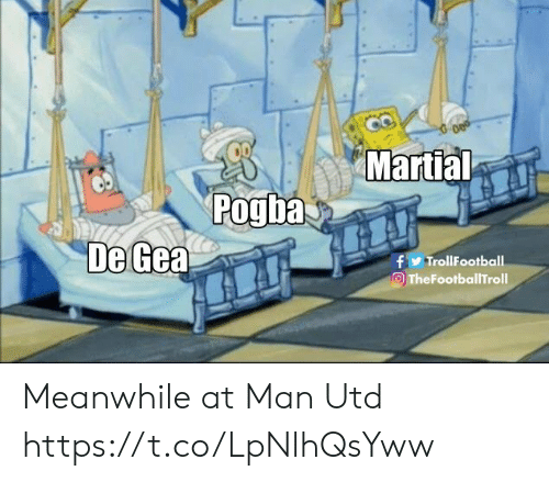 pogba: Martial  Pogba  De Gea  f TrollFootball  TheFootballTroll Meanwhile at Man Utd https://t.co/LpNlhQsYww