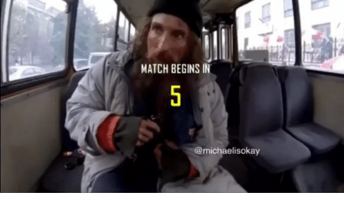 Memes, Match, and 🤖: MATCH BEGINS IN  @michaelisokay