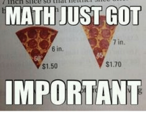 Math, Got, and Just: MATH JUST GOT  7 in  6 in.  $1.50  $1.70  IMPORTANT