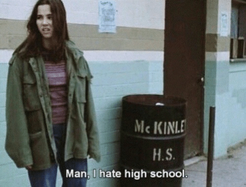 Man, High, and Hate: Mc KINLE  H.S  Man, I hate high schoo