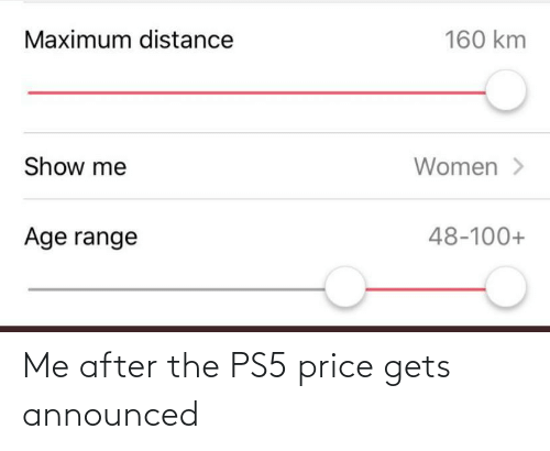 After The: Me after the PS5 price gets announced