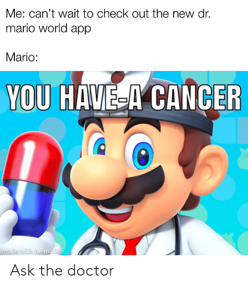 Me Can T Wait To Check Out The New Dr Mario World App Mario