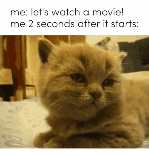 Movie, Watch, and Humans of Tumblr: me: let's watch a movie!  me 2 seconds after it starts: