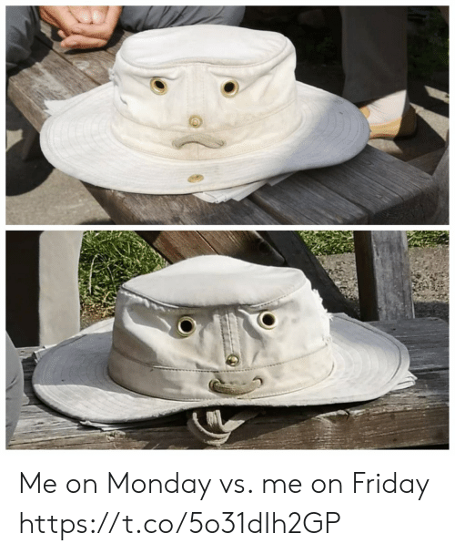 Friday, Monday, and Faces-In-Things: Me on Monday vs. me on Friday https://t.co/5o31dIh2GP