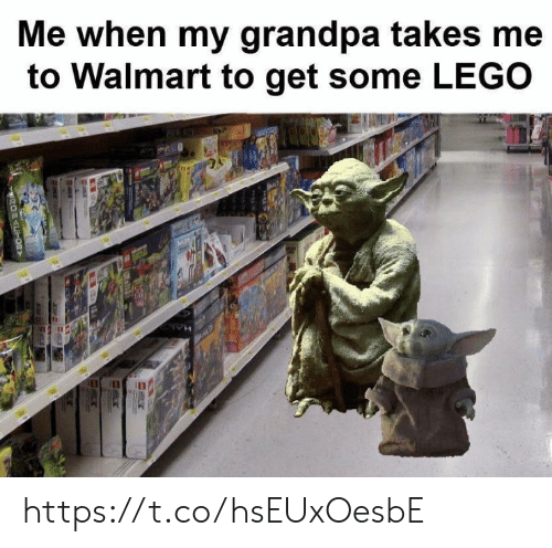 lego: Me when my grandpa takes me  to Walmart to get some LEGO  OFACT00Y https://t.co/hsEUxOesbE