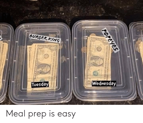 Meal: Meal prep is easy