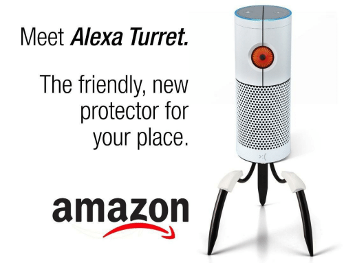 Amazon, Alexa, and New: Meet Alexa lurret.  The friendly, new  protector for  your place  amazon