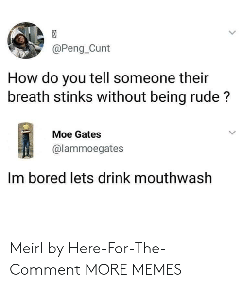 For The: Meirl by Here-For-The-Comment MORE MEMES