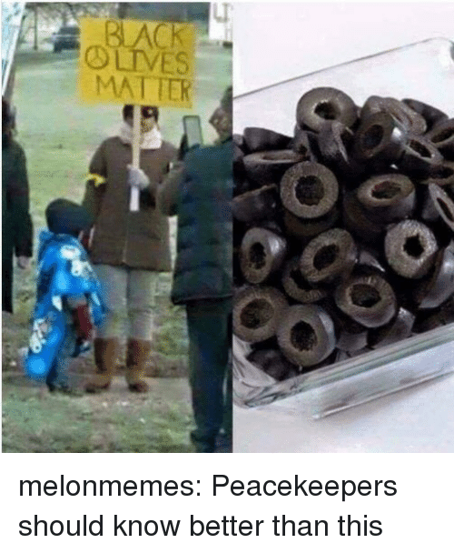 know better: melonmemes:  Peacekeepers should know better than this