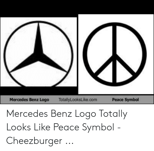Anime Mercedes Meme: Mercedes Benz Logo  TotallyLooksLike.com  Peace Symbol Mercedes Benz Logo Totally Looks Like Peace Symbol - Cheezburger ...