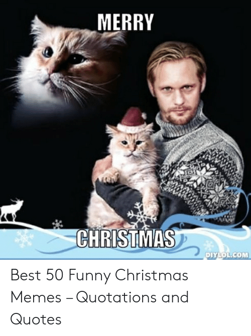 Christmas, Funny, and Memes: MERRY  CHRISTMAS  DIYLOL.COM Best 50 Funny Christmas Memes – Quotations and Quotes