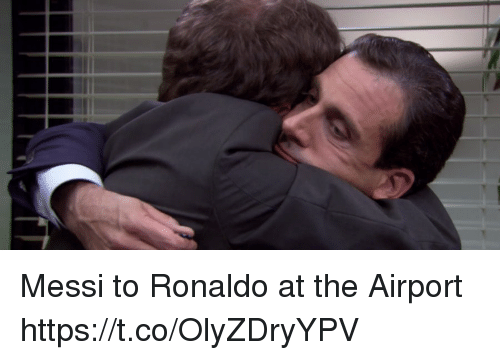 Memes, Messi, and Ronaldo: Messi to Ronaldo at the Airport https://t.co/OlyZDryYPV