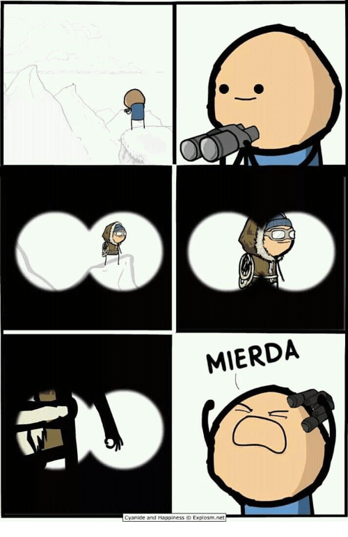 Cyanide and Happiness, Happiness, and Net: MIERDA  Cyanide and Happiness O Explosm.net