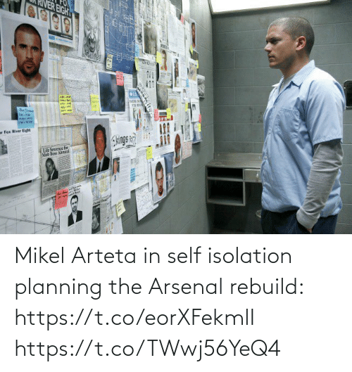 Planning: Mikel Arteta in self isolation planning the Arsenal rebuild: https://t.co/eorXFekmlI https://t.co/TWwj56YeQ4