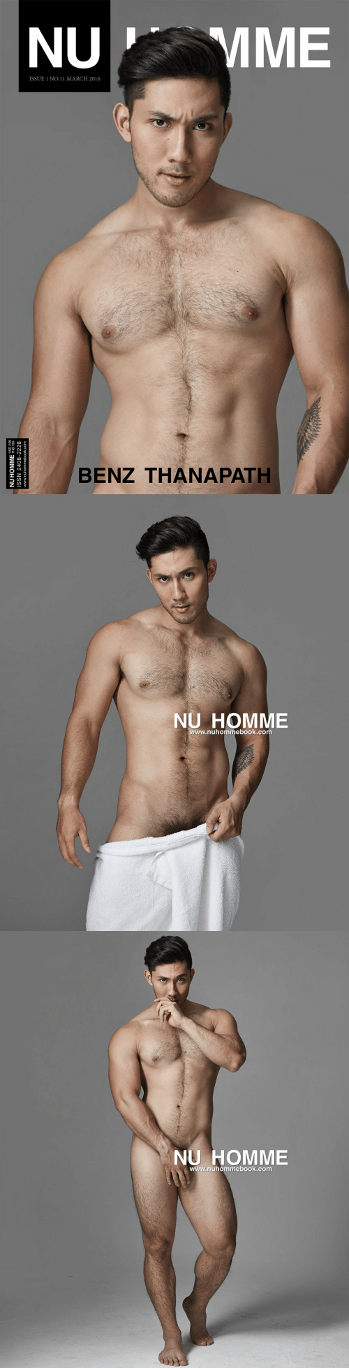 benz: MME  NU  ISSUE 1 NO.11 MARCH 2016  BENZ THANAPATH  NU HOMME HB 120  ISSN 2408-2228  www.nuhommebook.com   NU HOMME  www.nuhommebook.com   NU HOMME  www.nuhommebook.com