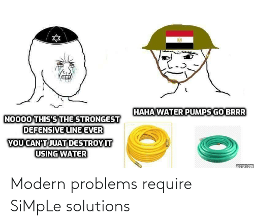Require: Modern problems require SiMpLe solutions