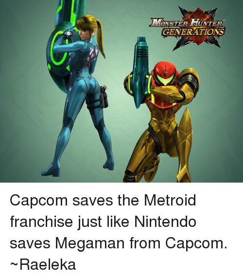 Monster Hunter Generations Capcom Saves The Metroid Franchise Just