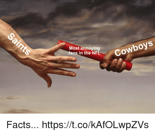 Most Annoying: Most annoying  fans in the NFIL  Cowboys Facts... https://t.co/kAfOLwpZVs