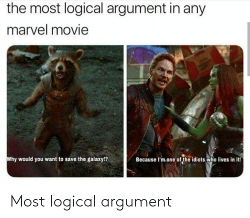 Most: Most logical argument
