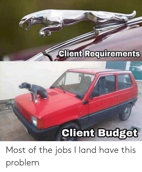 Land: Most of the jobs I land have this problem