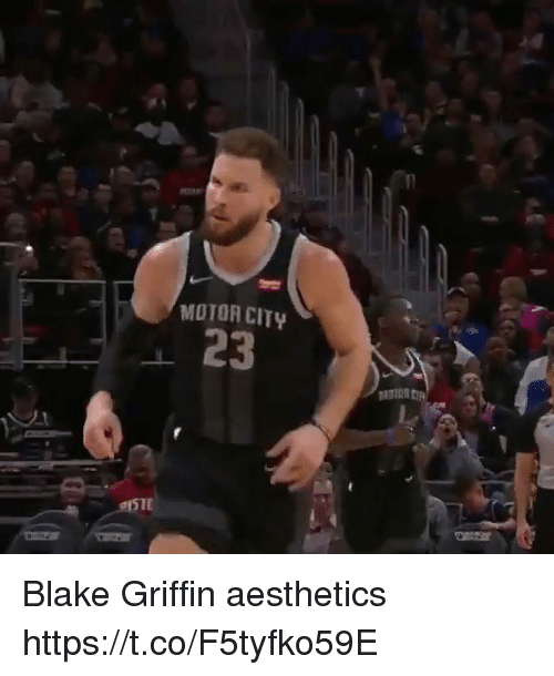 Blake Griffin: MOTOR CITY  23 Blake Griffin aesthetics https://t.co/F5tyfko59E