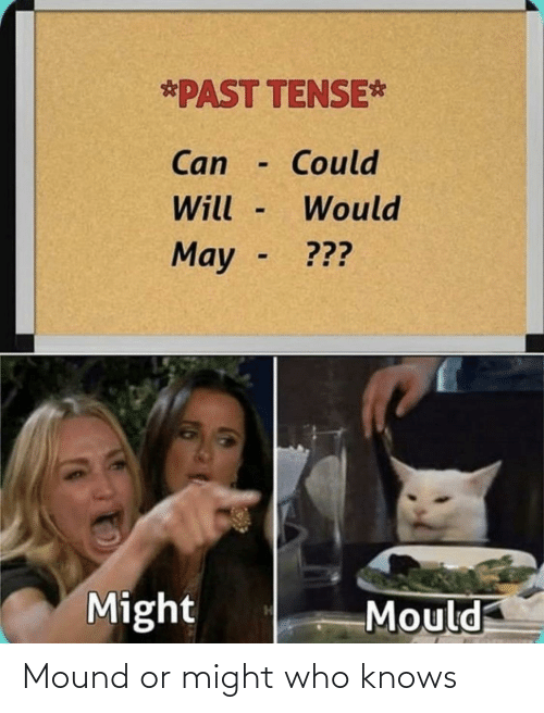 might: Mound or might who knows
