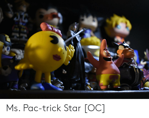 Star, Pac, and Trick: Ms. Pac-trick Star [OC]