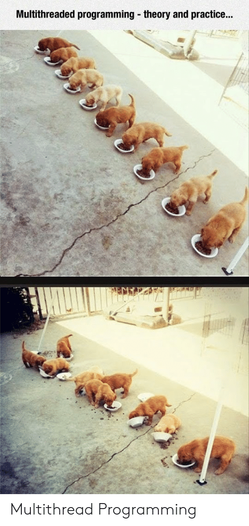 Theory: Multithreaded programming theory and practice...  EPING Multithread Programming