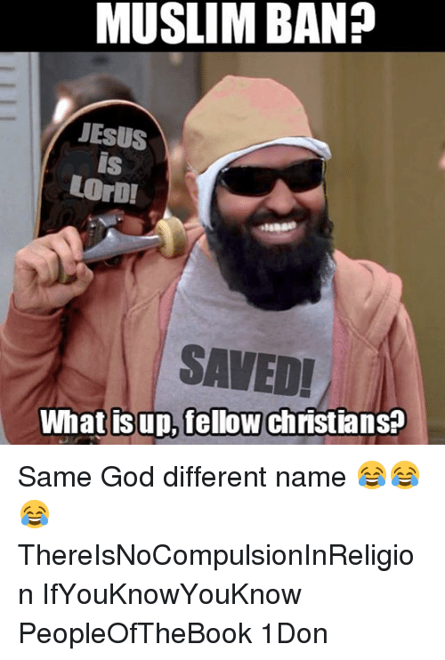 Muslim Band: MUSLIM BAND  JESUS  LODI  SAVED!  What is up, fellow Christians? Same God different name 😂😂😂 ThereIsNoCompulsionInReligion IfYouKnowYouKnow PeopleOfTheBook 1Don