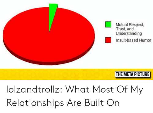 Relationships, Respect, and Tumblr: Mutual Respect,  Trust, and  Understanding  Insult-based Humor  THE META PICTURE lolzandtrollz:  What Most Of My Relationships Are Built On