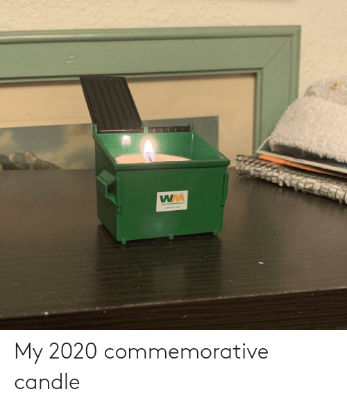 Candle: My 2020 commemorative candle