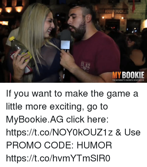 esmemes.com: MY BOOKIE  THE INTERNETS FAVORITE SPORTSBOOK If you want to make the game a little more exciting, go to MyBookie.AG click here: https://t.co/NOY0kOUZ1z  & Use PROMO CODE: HUMOR https://t.co/hvmYTmSlR0