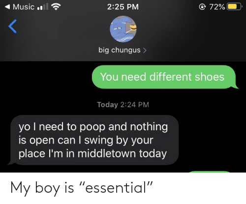"My Boy: My boy is ""essential"""