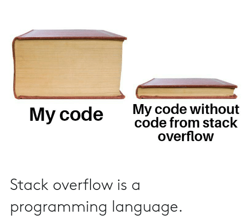 programming language: My code without  code from stack  overflow  Му code Stack overflow is a programming language.