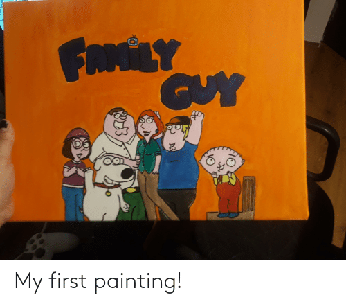 painting: My first painting!