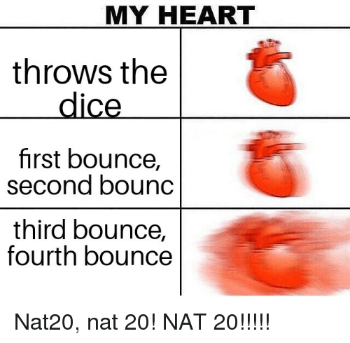 Bounc: MY HEART  throws the  dice  first bounce,  second bounc  third bounce,  fourth bounce