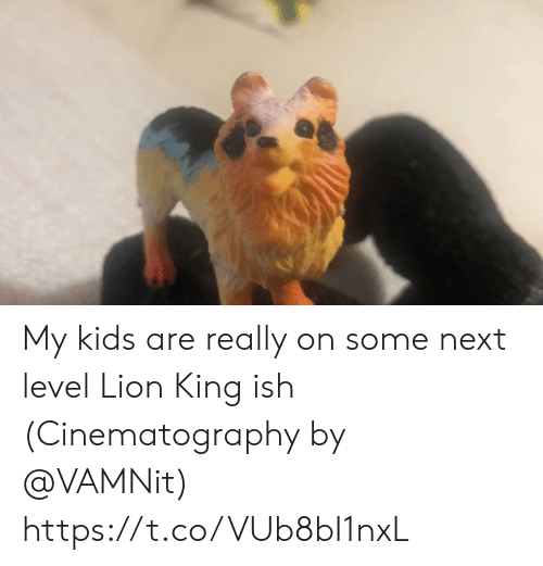Memes, Kids, and Lion: My kids are really on some next level Lion King ish (Cinematography by @VAMNit) https://t.co/VUb8bI1nxL
