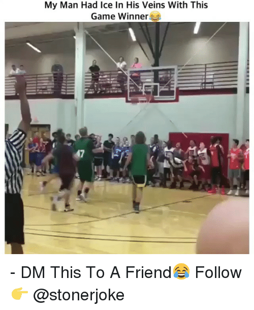 Game Winner: My Man Had Ice In His Veins With This  Game Winner - DM This To A Friend😂 Follow 👉 @stonerjoke