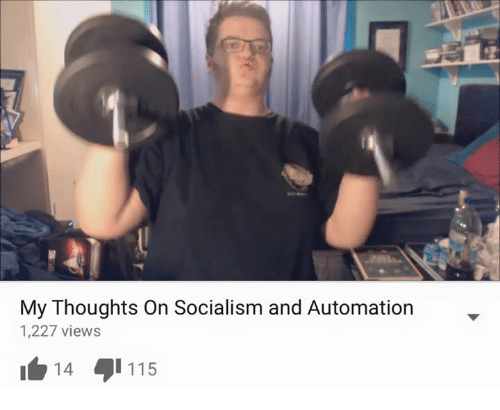 autom: My Thoughts on Socialism and Automation  1,227 views  14  115