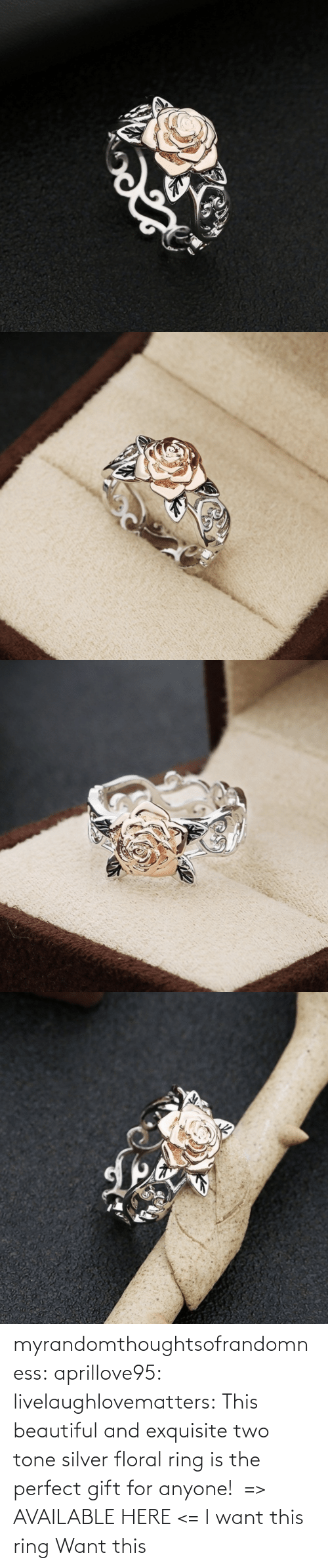 anyone: myrandomthoughtsofrandomness:  aprillove95: livelaughlovematters:  This beautiful and exquisite two tone silver floral ring is the perfect gift for anyone!  => AVAILABLE HERE <=    I want this ring     Want this