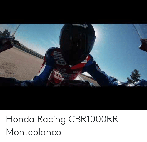 Honda, Shoe, and Cbr1000rr: N  SHOE Honda Racing CBR1000RR Monteblanco