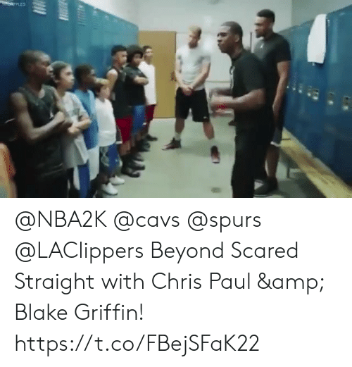 Blake Griffin: @NBA2K @cavs @spurs @LAClippers Beyond Scared Straight with Chris Paul & Blake Griffin!    https://t.co/FBejSFaK22