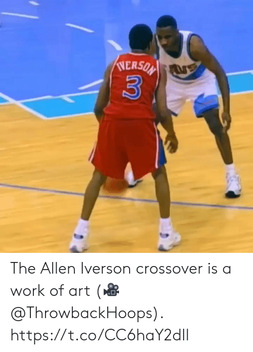 Allen Iverson: NERSON  3 The Allen Iverson crossover is a work of art  (🎥 @ThrowbackHoops).  https://t.co/CC6haY2dIl