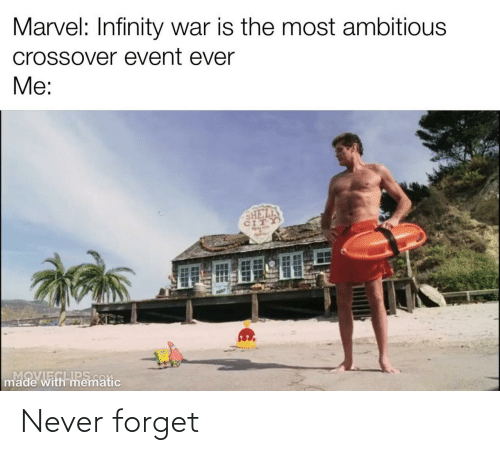 Forget: Never forget