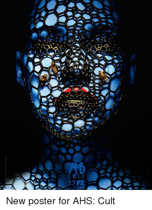 posterization: New poster for AHS: Cult