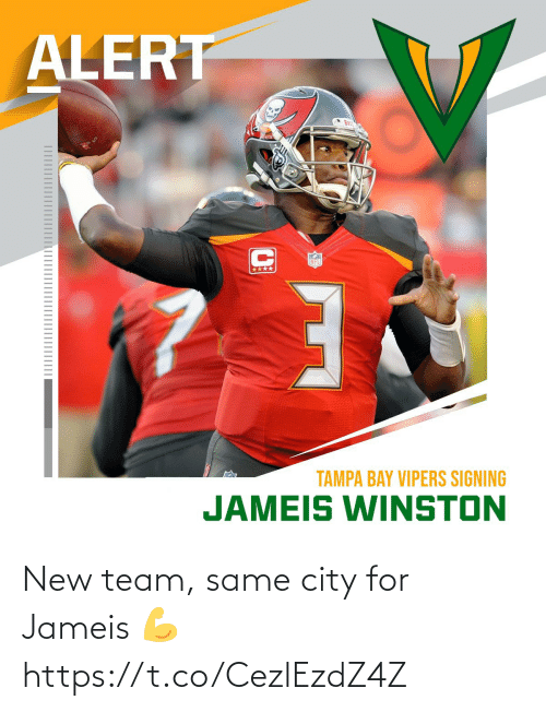 city: New team, same city for Jameis 💪 https://t.co/CezlEzdZ4Z