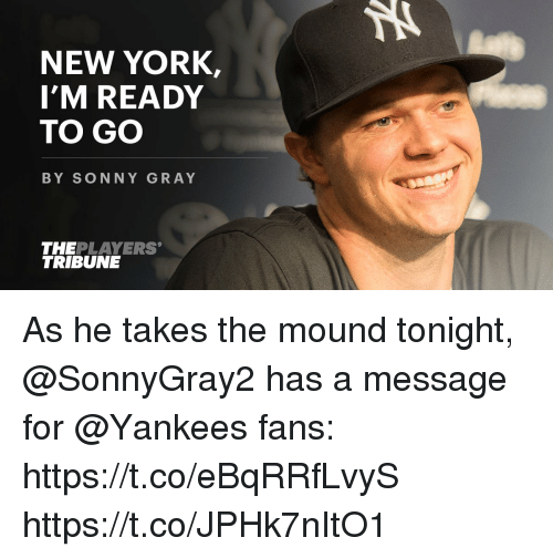 new york imready to go by sonny gray theplayers tribune 26670578 new york imready to go by sonny gray theplayers tribune as he takes