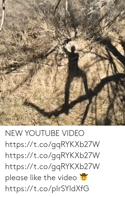 youtube.com, Video, and New: NEW YOUTUBE VIDEO   https://t.co/gqRYKXb27W https://t.co/gqRYKXb27W https://t.co/gqRYKXb27W  please like the video 🤠 https://t.co/pIrSYldXfG